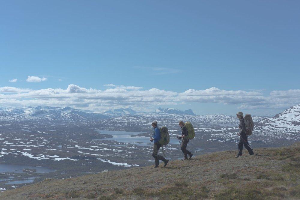Fieldwork along the ridge by Ive van Krunkelsven.jpg