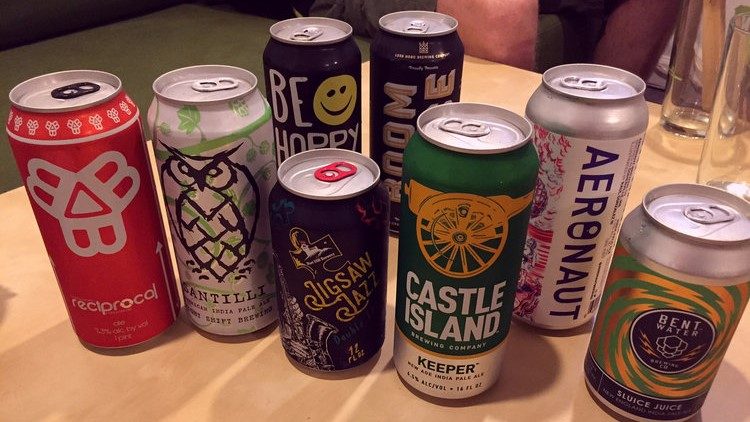 Once Alchemist, Tree House, and Trillium started selling their IPAs in cans, other New England breweries wanted to signal that they, too, had the juice.