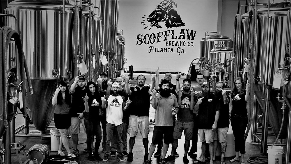The photo Scofflaw posted with its initial Facebook post.