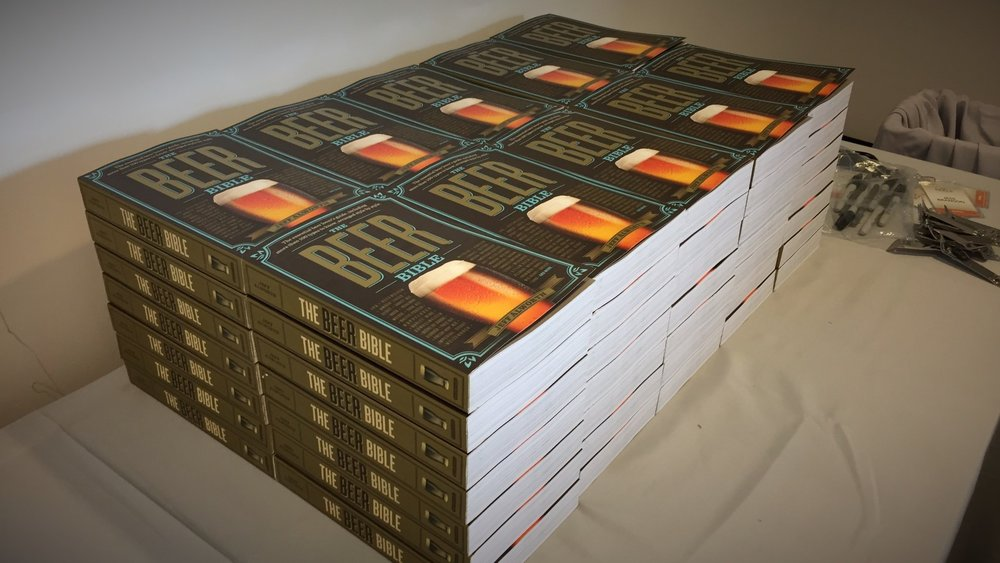 This is a pile of 70 signed copies. It seems huge! Imagine 67,000--that's how many you've all bought.
