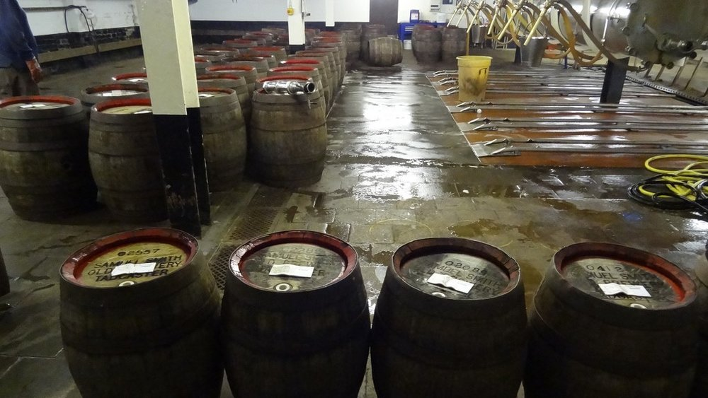 A few breweries, like Sam Smith's, do still have a few wooden casks kicking around. I didn't even get into the whole cooper thing, which is another potential layer of craftiness almost lost in the 21st century.