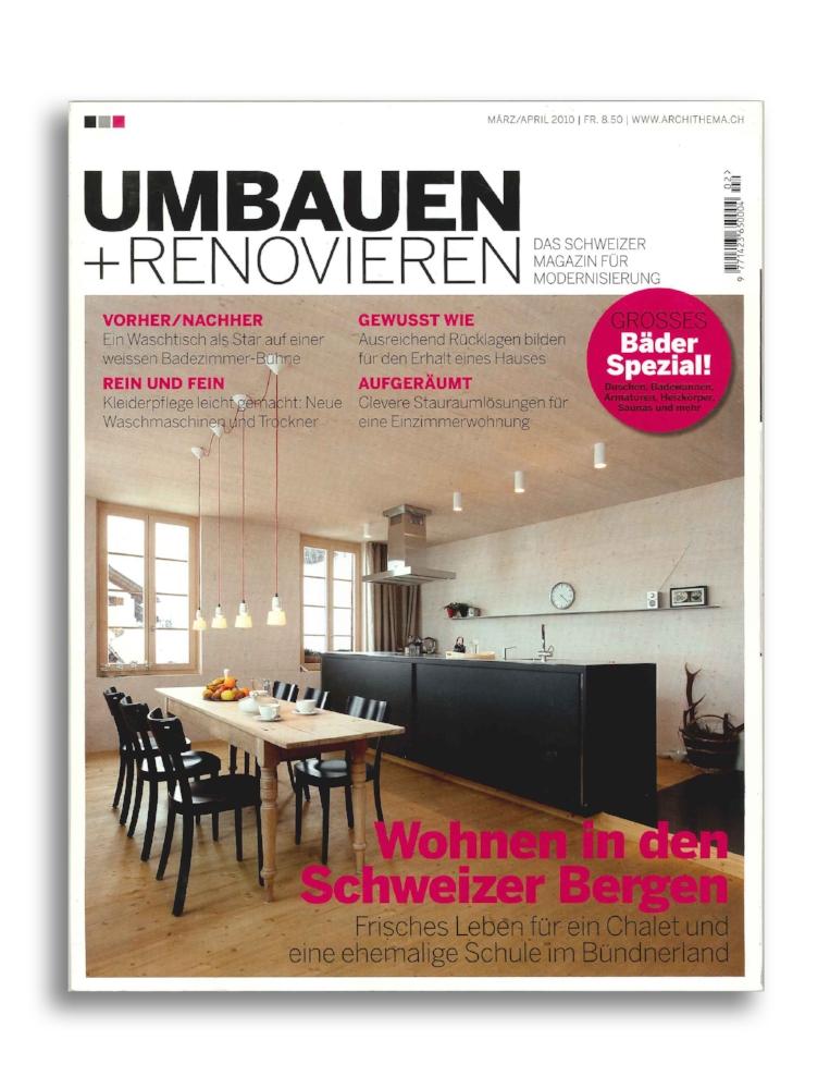 UMBAUEN + RENOVIEREN I 0210
