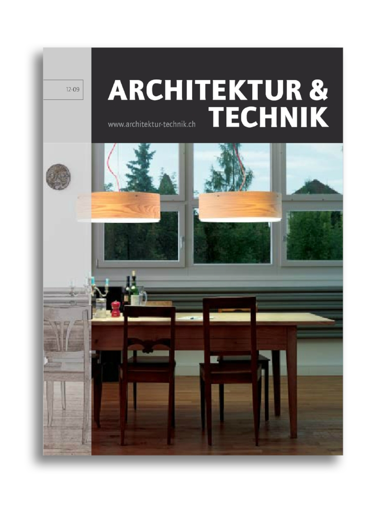 ARCHITEKTUR + TECHNIK I 1209