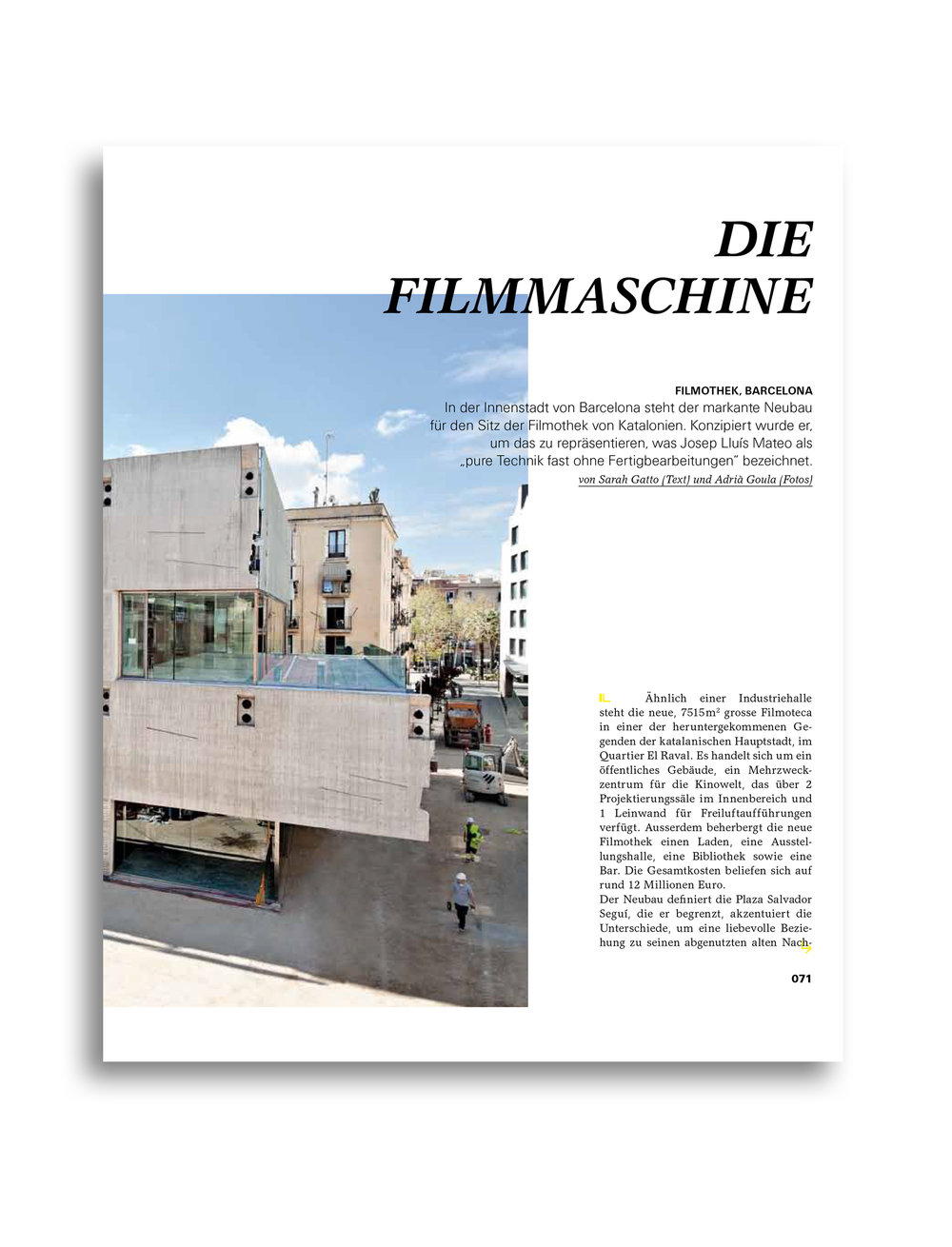 MODULOR 0611 I Die Filmmaschine