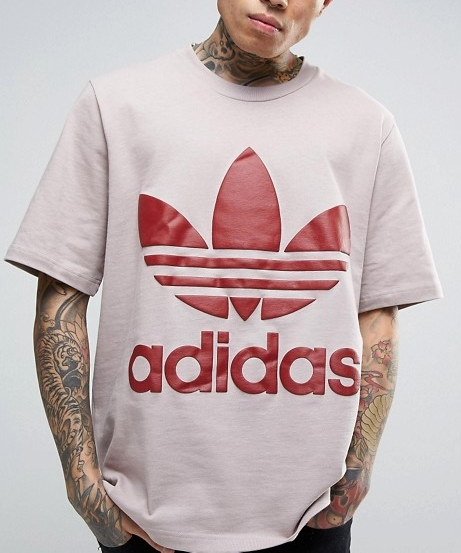 adidas Originals AC Boxy T-Shirt In Grey BR8702  From €40.00 now €20.00