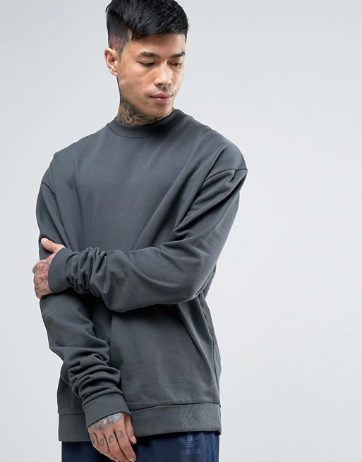 Oversized Longline Sweatshirt With Extra Long Sleeves  From €33.00 now     €18.00
