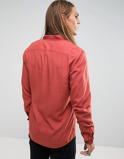 Shirt in Burgundy Red  €33.00