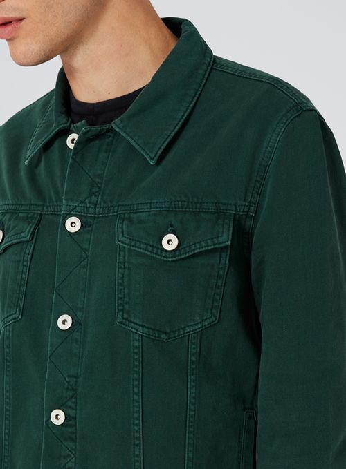 Dark Green Denim Jacket €50,00