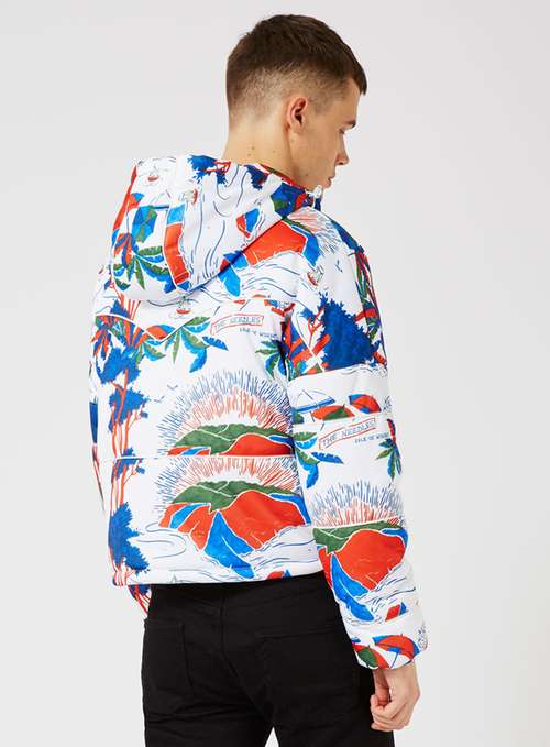 Isle Of Wight Print Puffer Jacket From €210.00 now €68.00