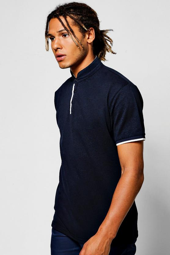 Manderin Polo in black and white € 10.00
