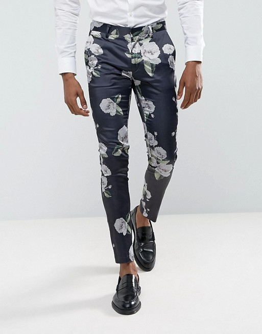 Skinny Trousers in Floral Print € 40.00