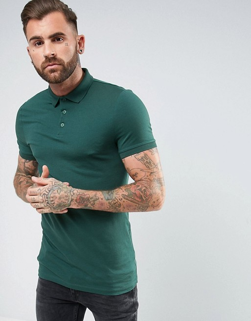 Muscle Polo in Green € 16.00
