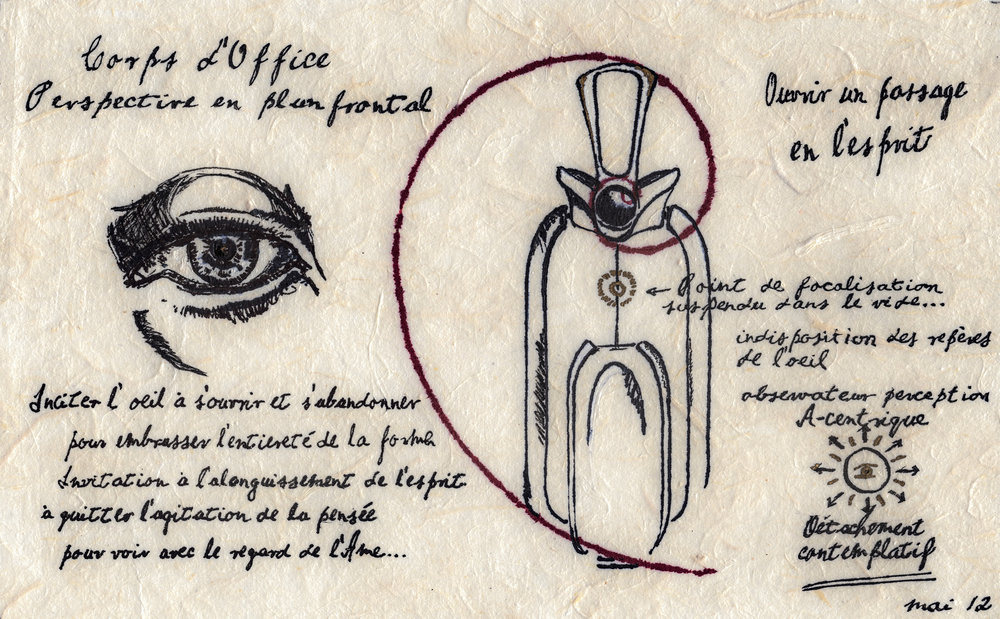 Picture plate of the Vessel of Service, from the Way of wine manuscript, Thierry Forbois, May 2012