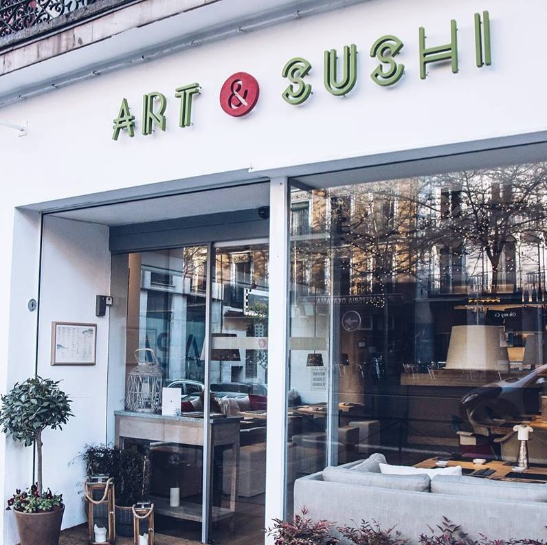Japonés Madrid Art & Sushi Madrid
