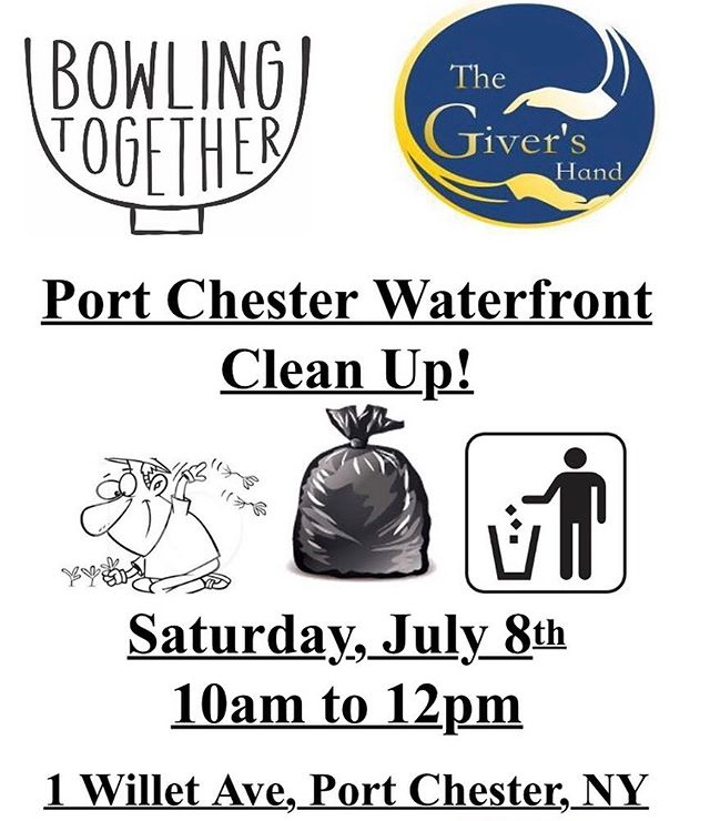 Last Bowling Together Clean Up! Hope to see you there!