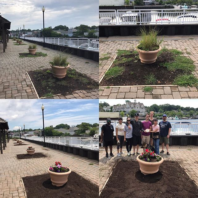 Wow, look at what a group of motivated community members can do!! We have the power to make our village better!!