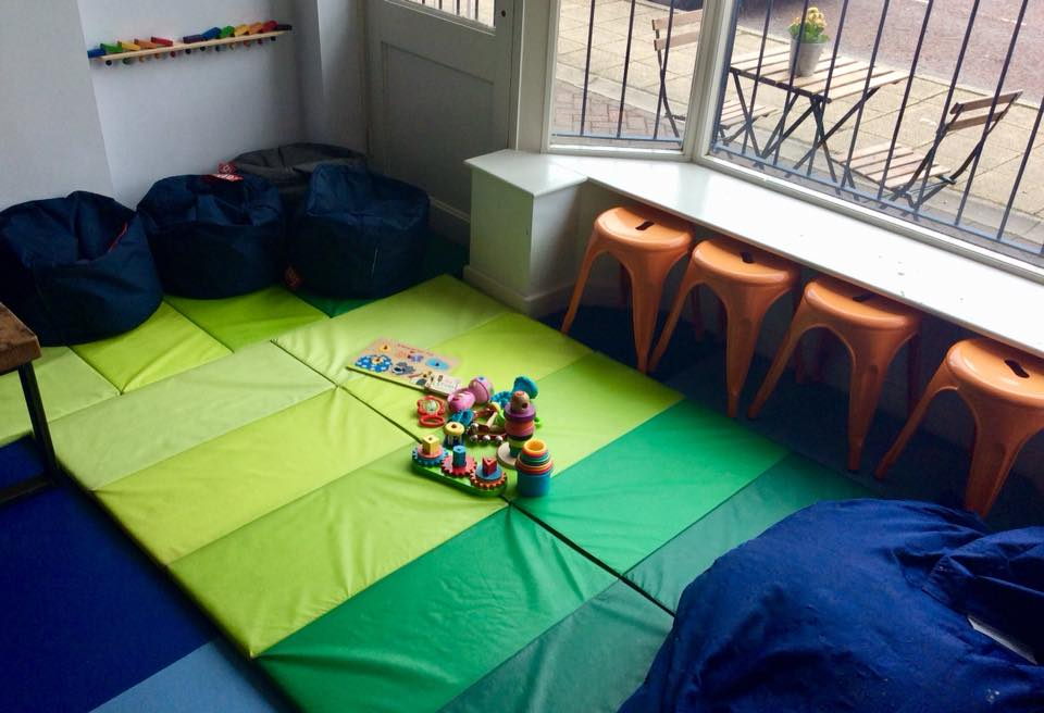 Baby Corner - Every Monday & Tuesday between 10 and 2 (term time), we create a corner of the cafe with soft mats and baby toys for our youngest guests to play and meet new friends.