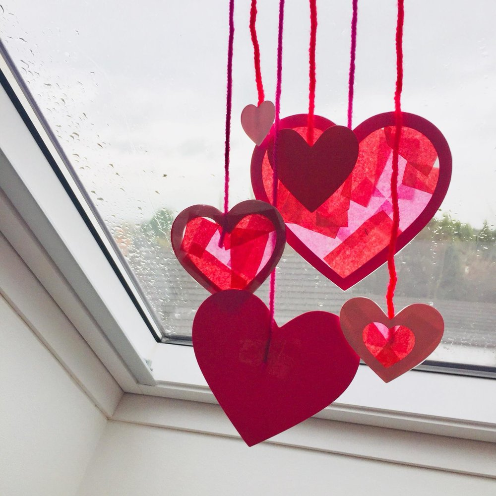 February Holiday Craft Club with Paper Town Crafts - Wednesday 13th February, 1.30-4.30pm.Come and join Gemma from paper Town Crafts to make a lovely Valentines themed sun catcher. £4 for 1 child or £6 for 2 children. Please call the cafe to book a space, we may be able to accept children without a booking on the day, but cannot guarantee this.