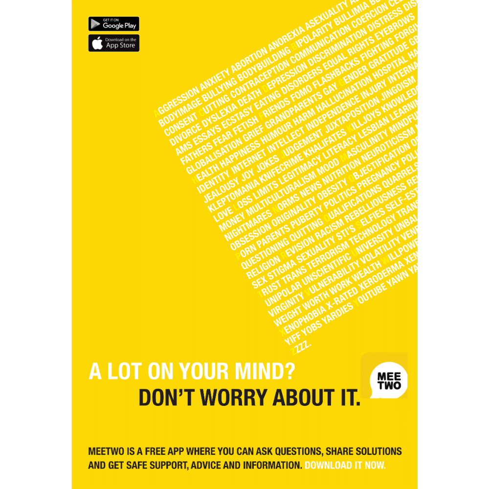 A-Z Of Worries Poster