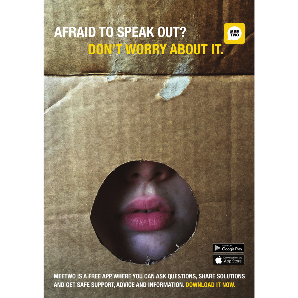 Speak Out Poster
