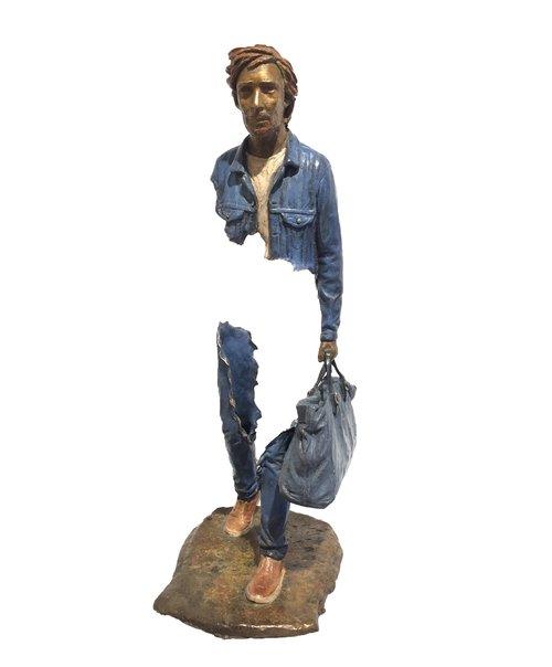 Bruno CATALANO |Lino |55 x 18 x 20 cm | Bronze