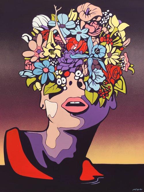 NERONE |About you II | 100 x 80 cm | Peinture acrylique