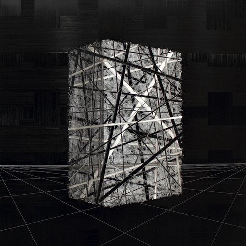 André NADAL |Black & White | 100 x 100 cm |Huile sur toile