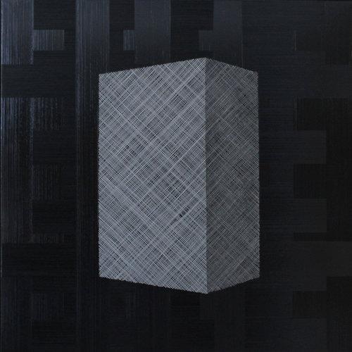 André NADAL |Black & White |80 x 80 cm |Huile sur toile