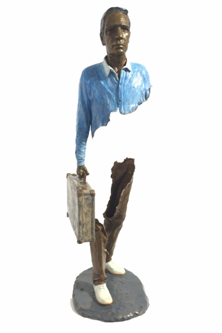 Bruno CATALANO  César  73 x 27 x 22 cm  Bronze