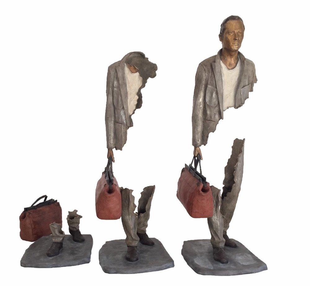 Bruno CATALANO | Fragments | 10 x 115 x 42 cm | Bronze