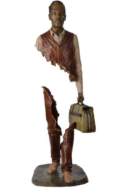 Bruno CATALANO Yvo   100 x 41 x 31 cm   Bronze