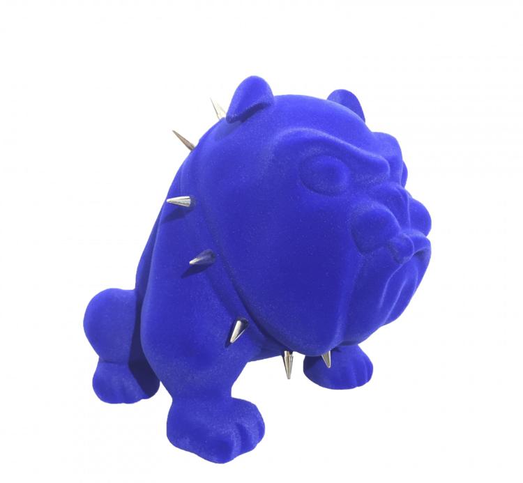 FRÉDÉRIC AVELLA | BLUE DOG I DE MEDICIS GALLERY