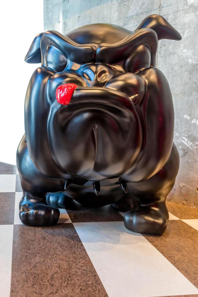 FREDERIC I BIG BLACK DOG I DE MEDICIS GALLERY