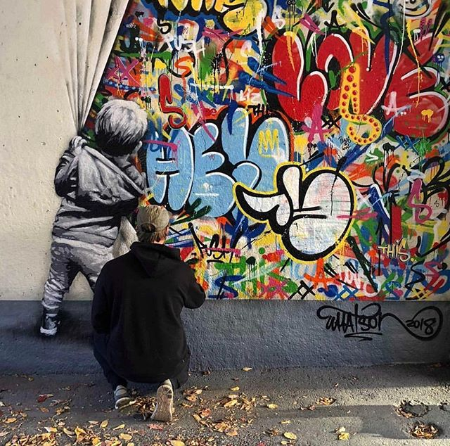 This Thursday @nextstreetgallery announces that @martinwhatson will be part of its new fantastic group show of November . Opening November, 8th from 7pm . Work by @martinwhatson  ________________  #swoon #urbanart #art #illustration #drawing #streetart #streetartparis #france #paris #nextstreetgallery