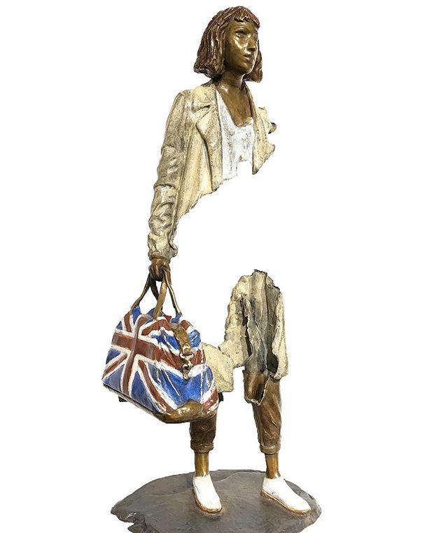 "🔺@demedicisgallery  18 Place des Vosges 75004 Paris WWW.DEMEDICIS-GALLERY.COM ▬▬▬▬▬▬▬▬▬▬▬▬▬▬▬▬▬▬▬▬ 🔺 BRUNO CATALANO 🔺 ☛ bronze sculpture TITLE : ""MARGAUX "" Dimensions : 46 x 17 x 12 cm ▬▬▬▬▬▬▬▬▬▬▬▬▬▬▬▬▬▬▬▬ #placedesvosges #paris #art  #contemporaryart  #bronze #sculpture #illustration #auction #brunocatalano  #christies #sothebeys #photooftheday #installation #DeMedicisGallery"
