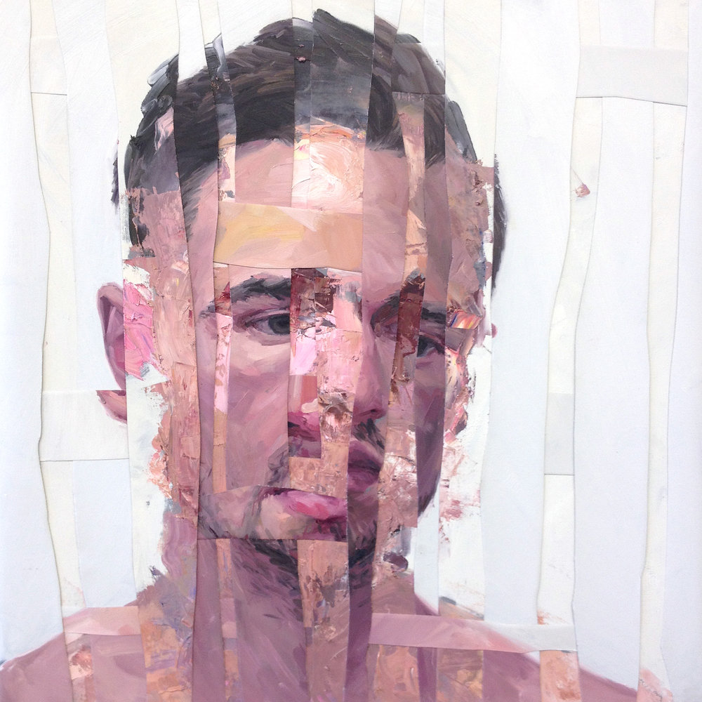 ADAM LUPTON | Psycho Analysis Composition I (Sold)