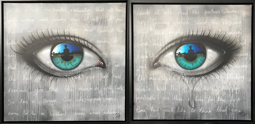 My Dog Sighs | A brilliant dance (Diptych)
