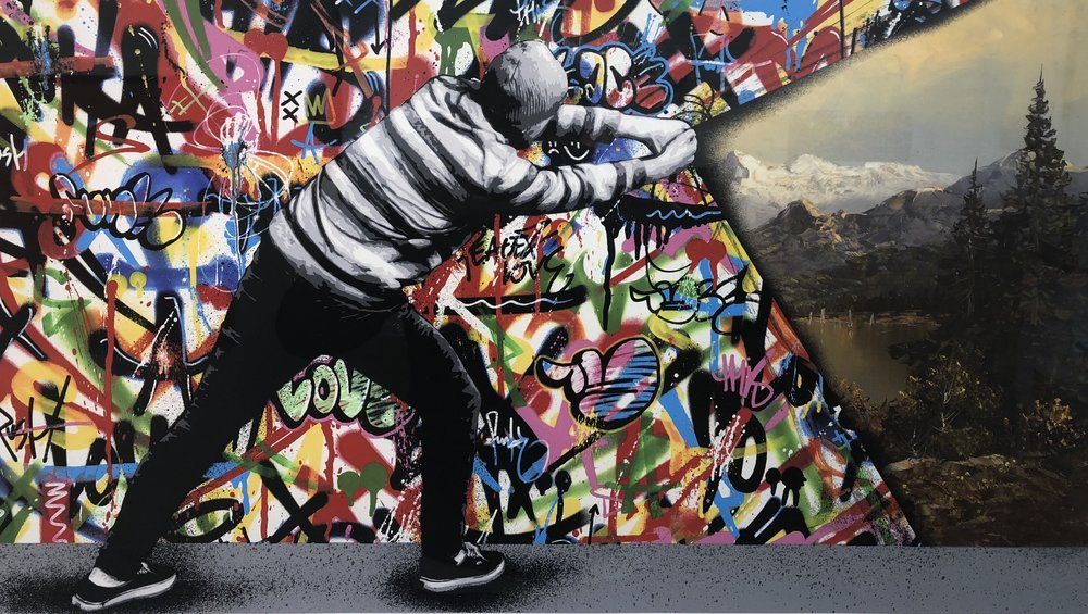 MARTIN WHATSON | Behind the curtain (Sold)
