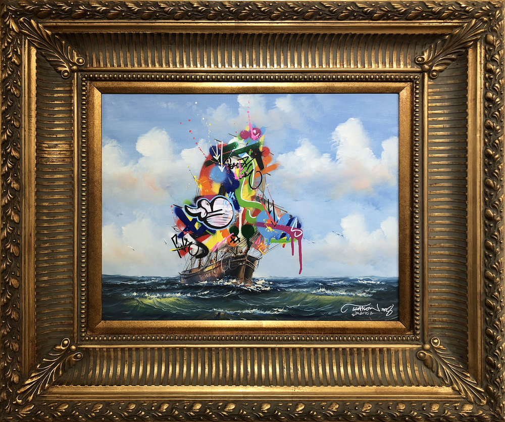 MARTIN WHATSON | Sail Boat (vintage) #2 (Sold)