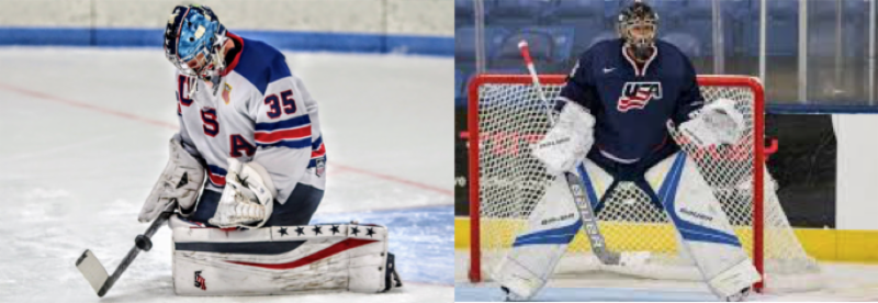 Knight Petruzzelli Represent Usa Hockey Procrease Goaltending