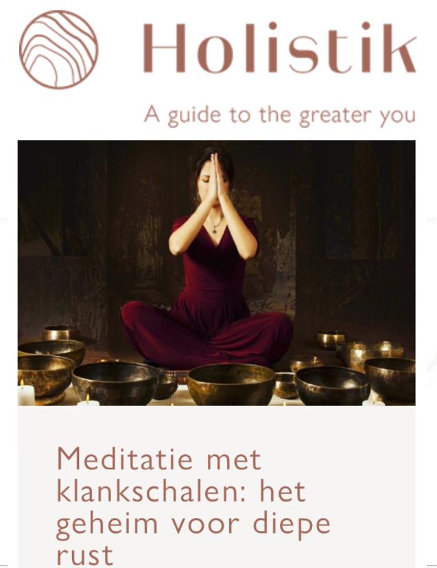 http://holistik.nl/klankschalenmeditatie/ -