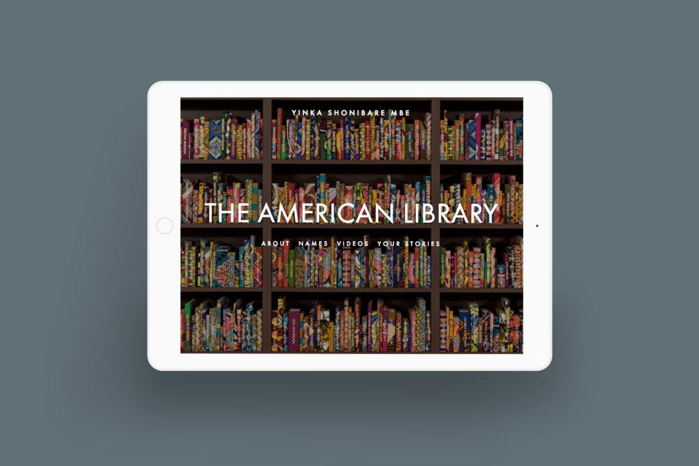 bgsd yinka shonibare the american library installation ipad.png