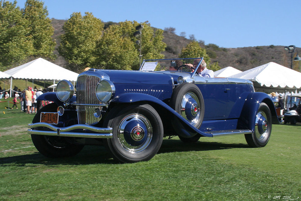 Image by Rex Gray 1930 1930 Duesenberg Model J with Disappearing Top