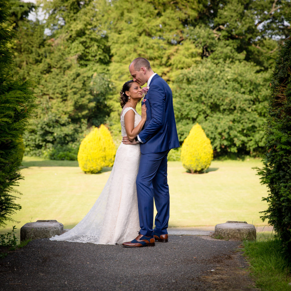 wedding couple wickham court