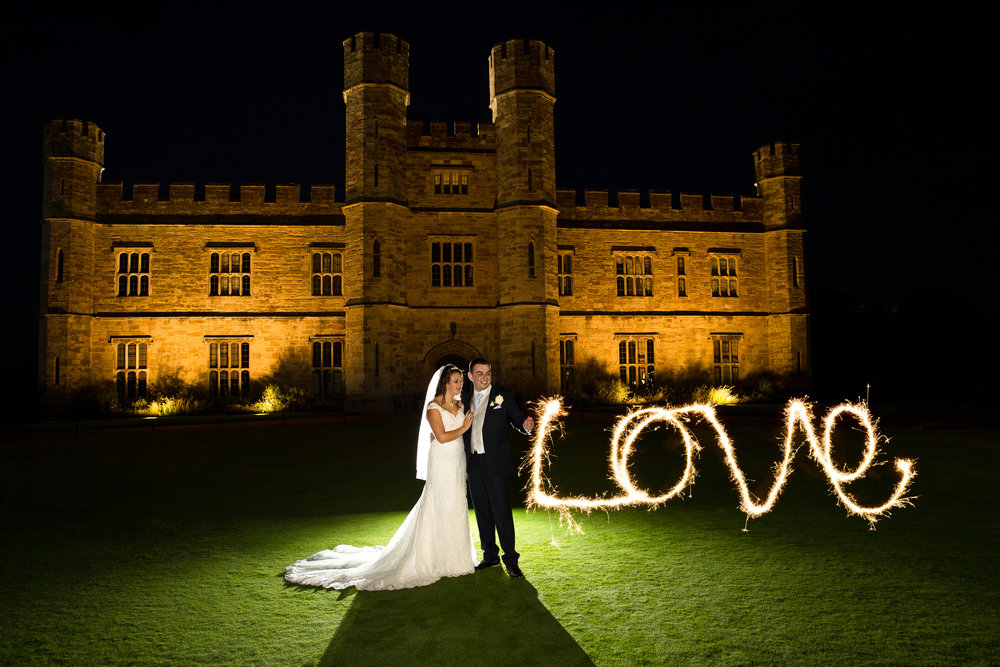 wedding chiddinstone castle