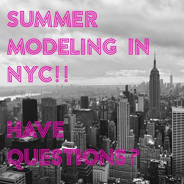 Did you know many of the top kids agents in NYC take on summer kids who travel to the city over summer break? We will be launching a new educational program for parents of child models to teach the ins and outs of summer modeling in NYC. Who's interested in learning? #childmodels #summerkids #kidmodels #momager