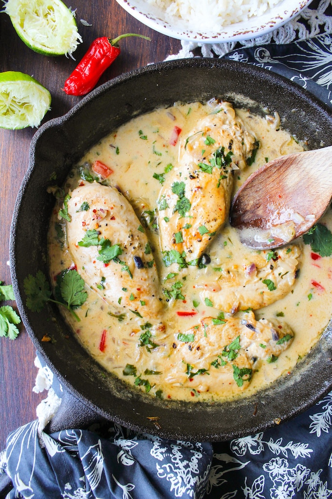 Source: https://www.asaucykitchen.com/coconut-lime-chicken/