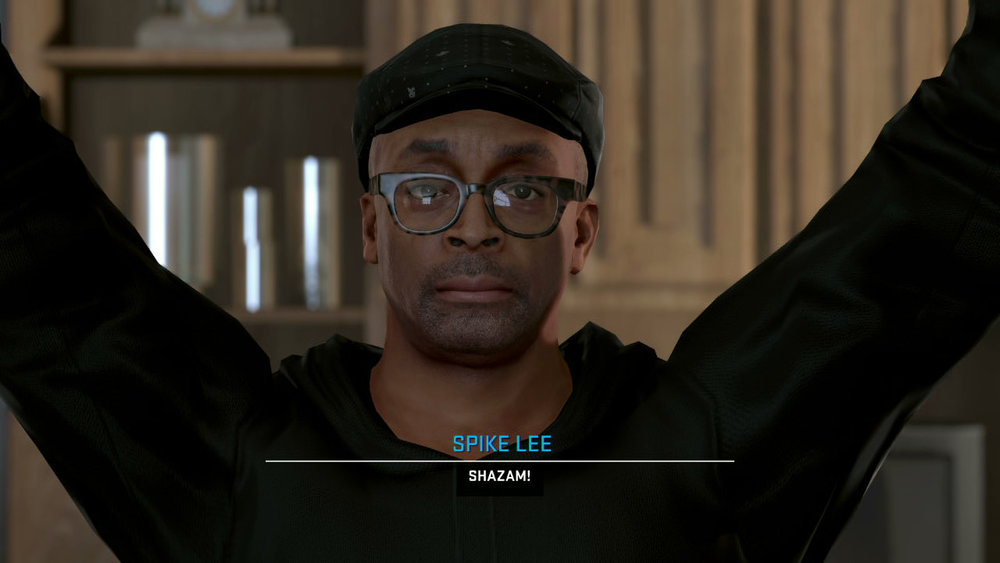 Spike Lee is really excited guys!