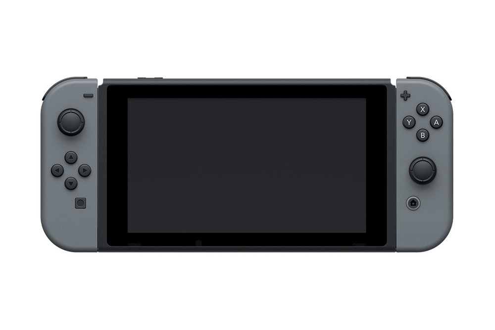 The Nintendo Switch in portable mode looks like most handheld consoles.