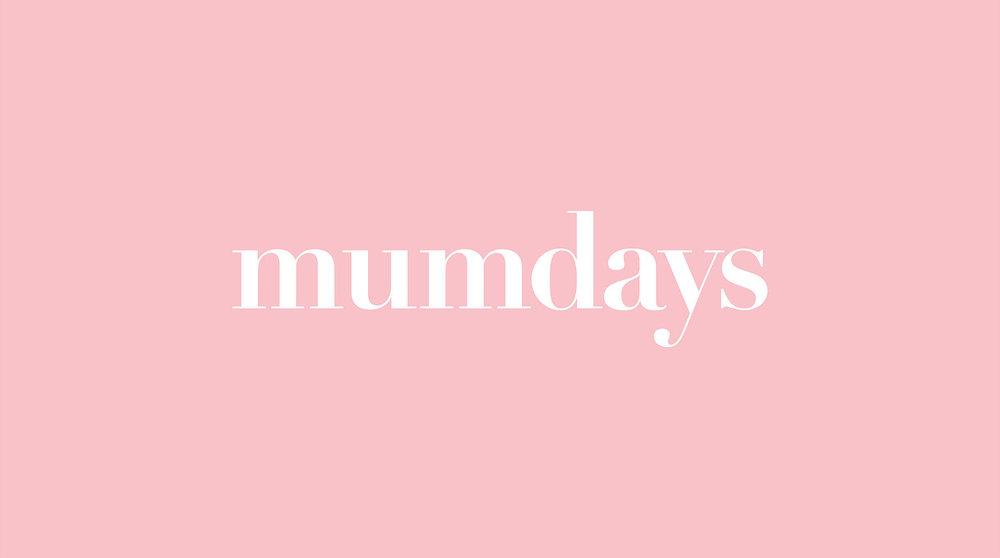 mumdays logo stop design newcastle